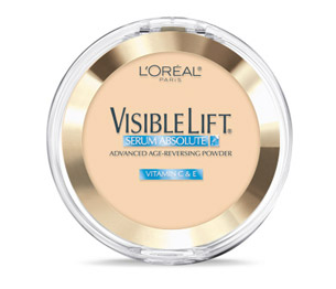 Polvo con Serum anti-Edad Visibe Lift LOreal París Light 172